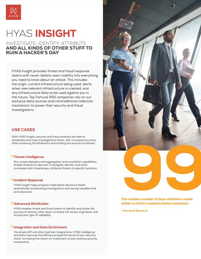 HYAS Insight Datasheet