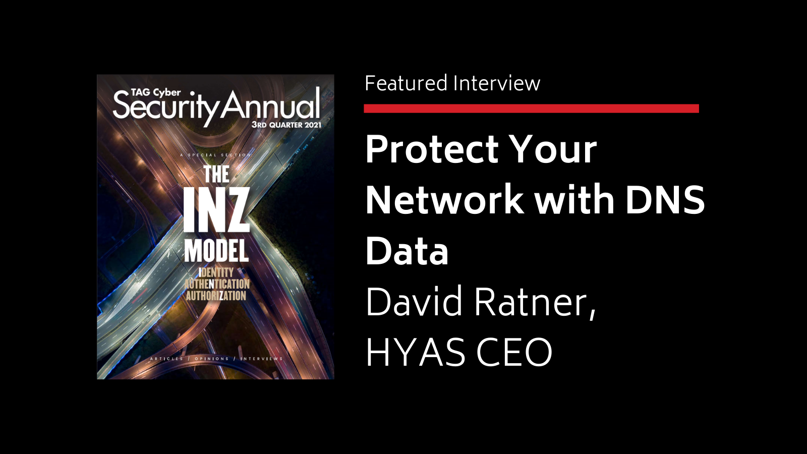 Protect Your Network With DNS Data
